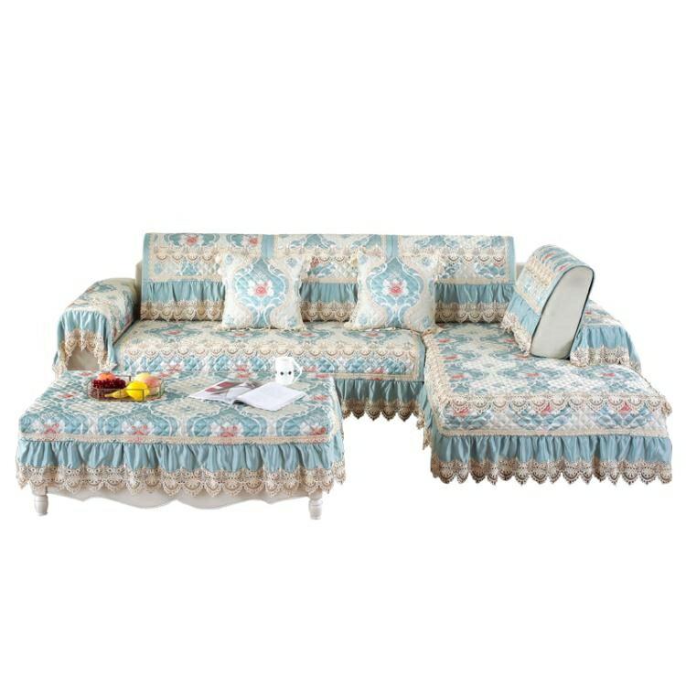 沙發罩 歐式沙發墊四季通用防滑沙發套罩全包萬能套子全蓋布藝靠背巾加厚【天天特賣工廠店】