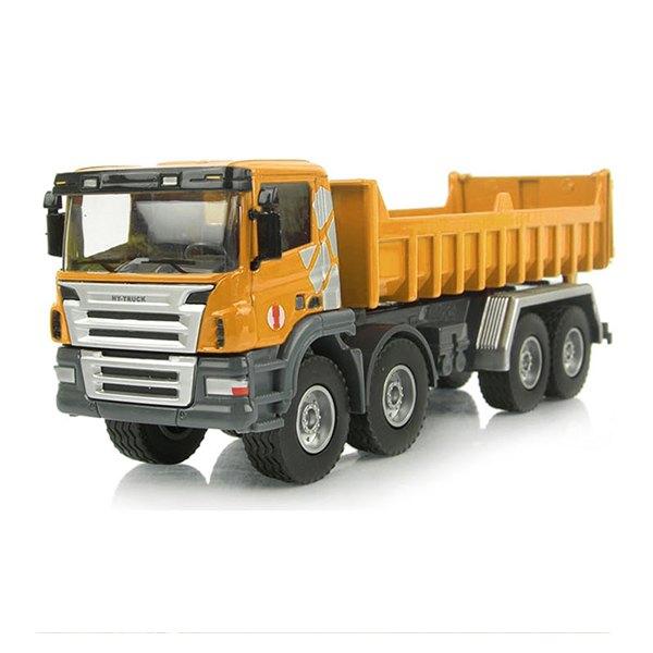 【888便利購】HY1:50高仿真合金自卸式卡車(5012-6)(授權)