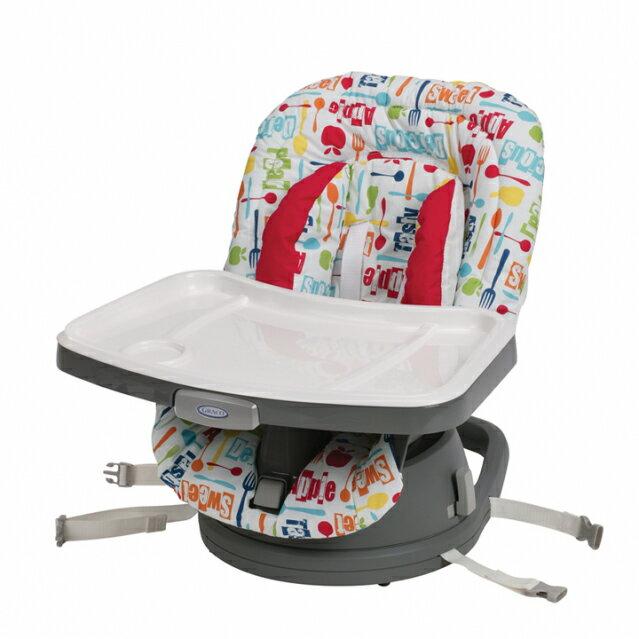 Graco - Swivi Seat 3-in-1 Booster 成長型旋轉餐椅 小蘋果