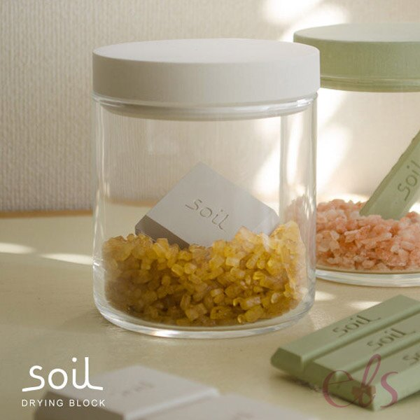 日本 SOIL 珪藻土正方形 乾燥劑 食物 防潮 保存 無味 (綠)  ☆艾莉莎ELS☆