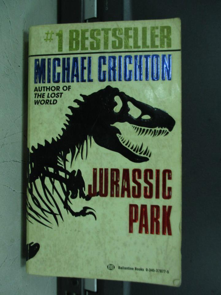 ~書寶 書T7/原文小說_ISA~Jurassic park_Michael cricht