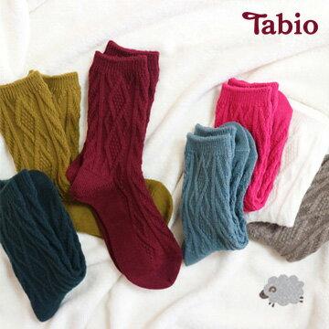 【靴下屋Tabio】菱形圖案溫暖羊毛短襪   / 日本襪子第一品牌 - 限時優惠好康折扣