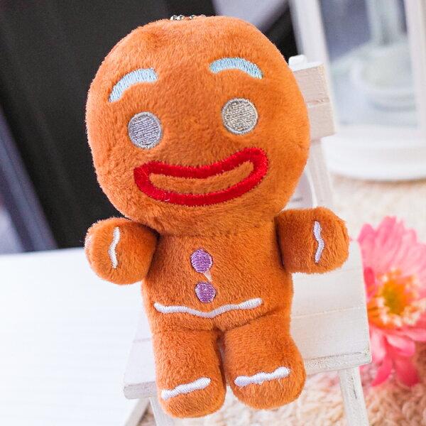 PGS7卡通系列商品-史瑞克Shrek薑餅人gingerbreadman娃娃小吊飾【SKB71657】
