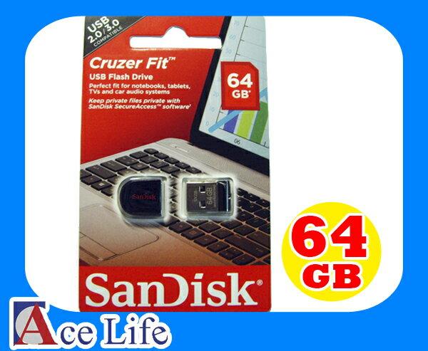 ~九瑜科技~Sandisk 64G 64GB Cruzer Fit SDCZ33 CZ33