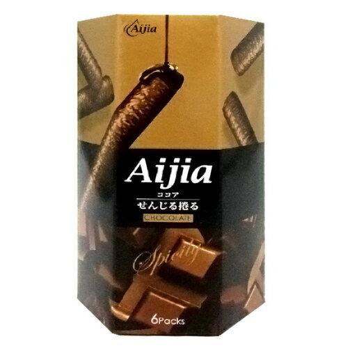 Aijia 愛加 日式煎捲 巧克力 96g