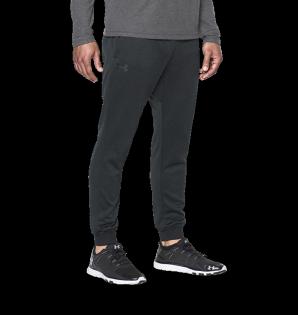 《UA出清5折》Shoestw【1280742-002】UNDERARMOURUA服飾長褲縮口褲保暖深灰黑男生