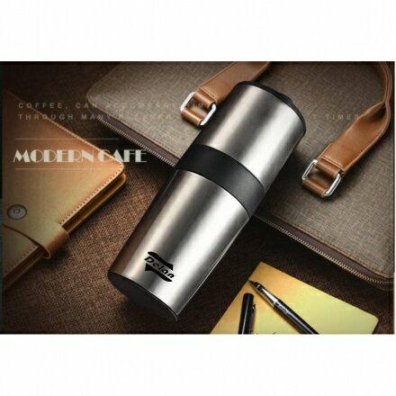 ~德朗~手搖研磨真空咖啡杯DL~1720 手搖研磨咖啡杯