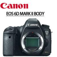 Canon佳能到★分期0利率★至2/28止,回函申請送LP-E6原電+SANDISK 64G SD卡  Canon EOS 6D 2 Mark II 6D2 單機身 數位單眼相機  彩虹公司貨