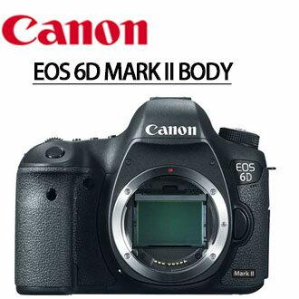 Canon Mall:★分期0利率★至228止,回函申請送LP-E6原電+SANDISK64GSD卡CanonEOS6D2MarkII6D2單機身數位單眼相機彩虹公司貨