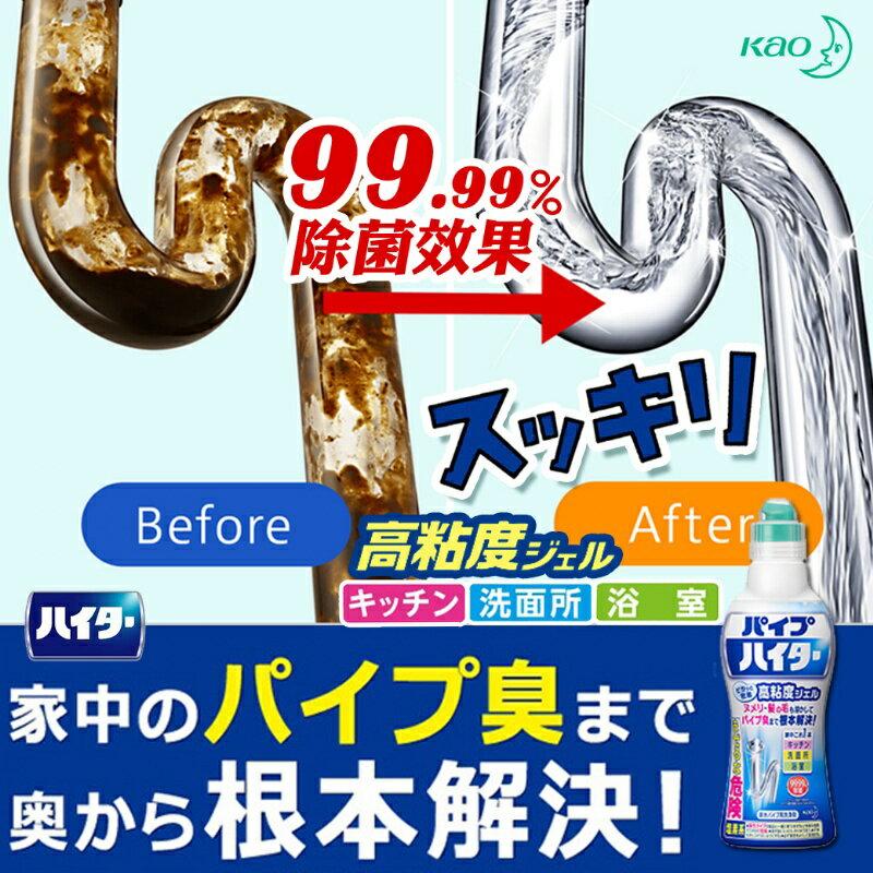 KAO 花王 Haiter 排水管清潔劑 500g 清潔 除臭 消臭 除菌 排水管 水管