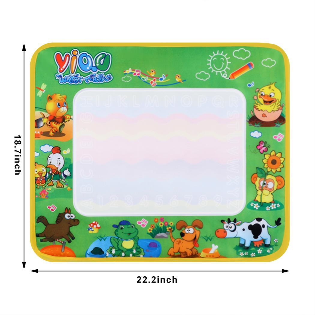 Multicolor Writing Cloth Mat with A Pen to Fill in Water 0