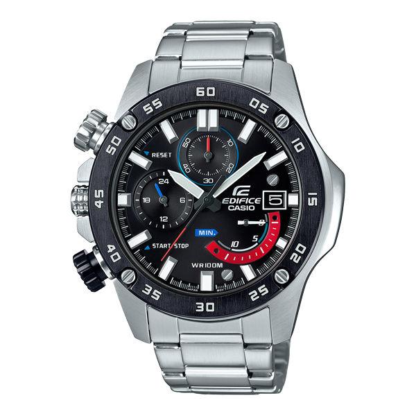 CASIOEDIFICEEFR-558DB-1A左冠扇形錶眼時尚競速腕錶49mm