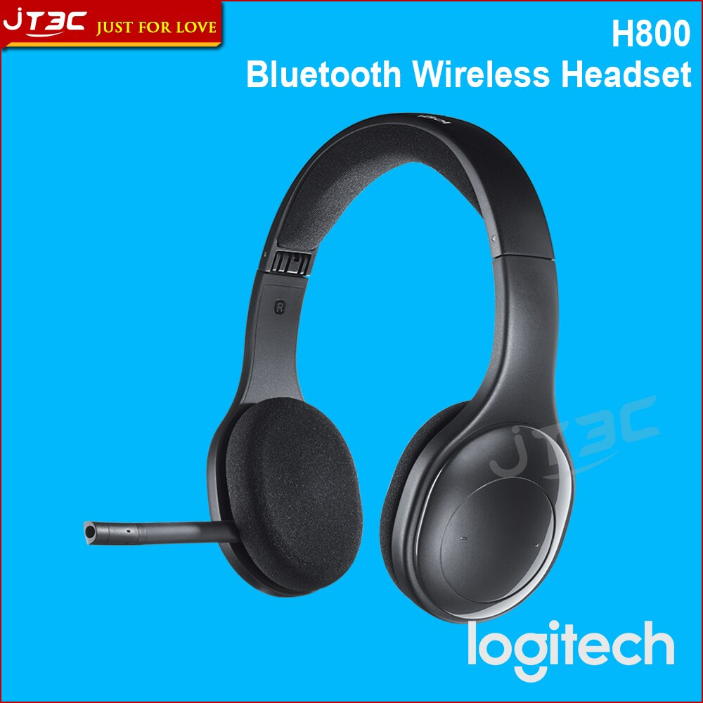 【滿3千10%回饋】LOGITECH 羅技 無線耳機麥克風 H800 2.4 GHz 藍牙 可折式 便於攜帶設計