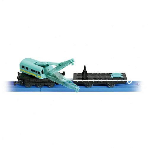 《TAKARA TOMY》PLARAIL鐵道王國 KF-08起重機吊車 東喬精品百貨