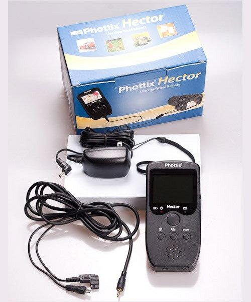 ~相機 ~ Phottix Hector Remote 即時取景有線遙控器 N10A1 D