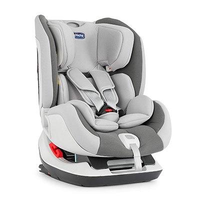 【買就送汽座保護墊置物袋】Chicco Seat Up 012 Isofix安全汽座-時尚灰【悅兒園婦幼生活館】