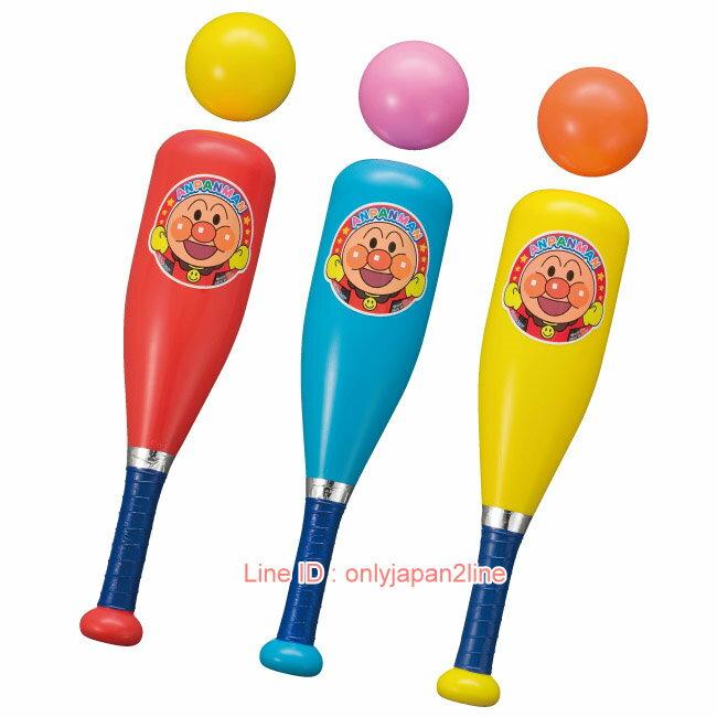 【真愛日本】17021000018壘球玩具組-ANP     電視卡通 麵包超人 細菌人 兒童玩具 正品 限量