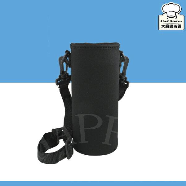 潛水衣布套保溫杯瓶水壺保護套背帶式可調350cc~500cc膳魔師象印-大廚師百貨