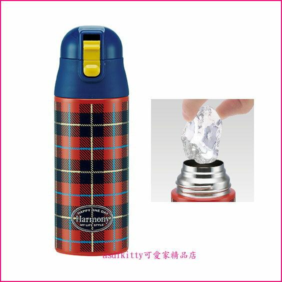 asdfkitty可愛家☆日本SKATER蘇格蘭超輕量真空斷熱不鏽鋼保冷保溫杯/保溫瓶/保溫壺-360ml-日本正版