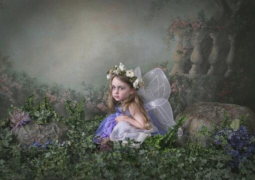Posterazzi DPI1877043LARGE A Girl Dressed As A Fairy - Victoria, British Columbia, Canada Poster Print, 32 x 22 - Large f3c40e4b90584cf1410f251a577144e5