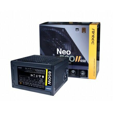 Antec安鈦克NEOECOII650650W銅牌轉換率電源供應器PC電源POWER【迪特軍】
