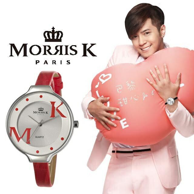 ~Morris K~羅志祥代言 巴黎甜心 腕錶 36mm MK151951~SRSR