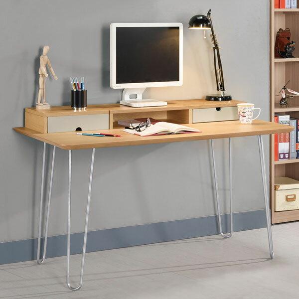 書桌《Yostyle》史都華4.3尺書桌工作桌辦公桌免運專人配送