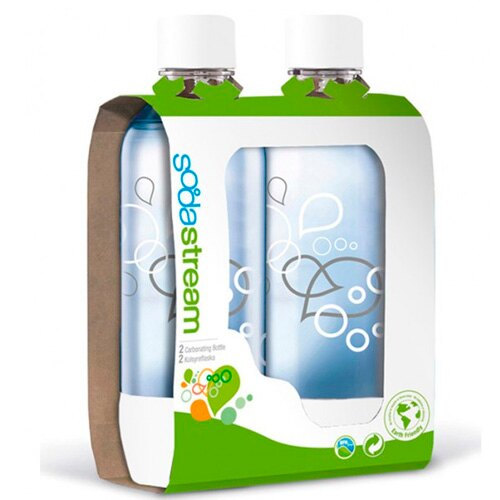 Sodastream 專屬水瓶/寶特瓶1L (2入) 氣泡水機 汽水機 通用款