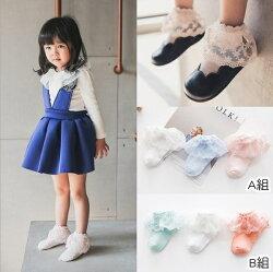 蕾絲花邊薄網眼短襪(3雙一組)  橘魔法 Baby magic 現貨 童裝 女童 襪子