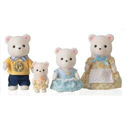 【 EPOCH 】森林家族 - 北極熊家庭組