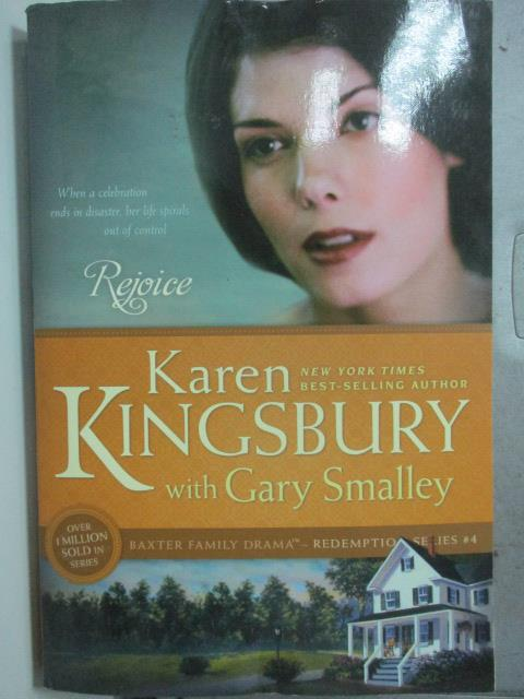 【書寶二手書T3/原文小說_HQS】Rejoice_Kingsbury, Karen/ Smalley, Gary