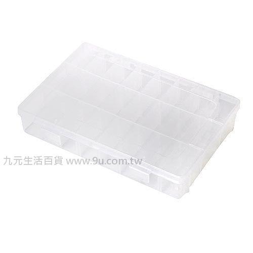 【九元生活百貨】可調式空盒-24格 收納盒 整理盒