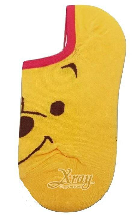 X射線【C099299】小熊維尼Winnie the Pooh矽膠止滑隱形襪,短襪 / 船型襪 / 卡通襪子 / 運動襪 / 長襪 - 限時優惠好康折扣