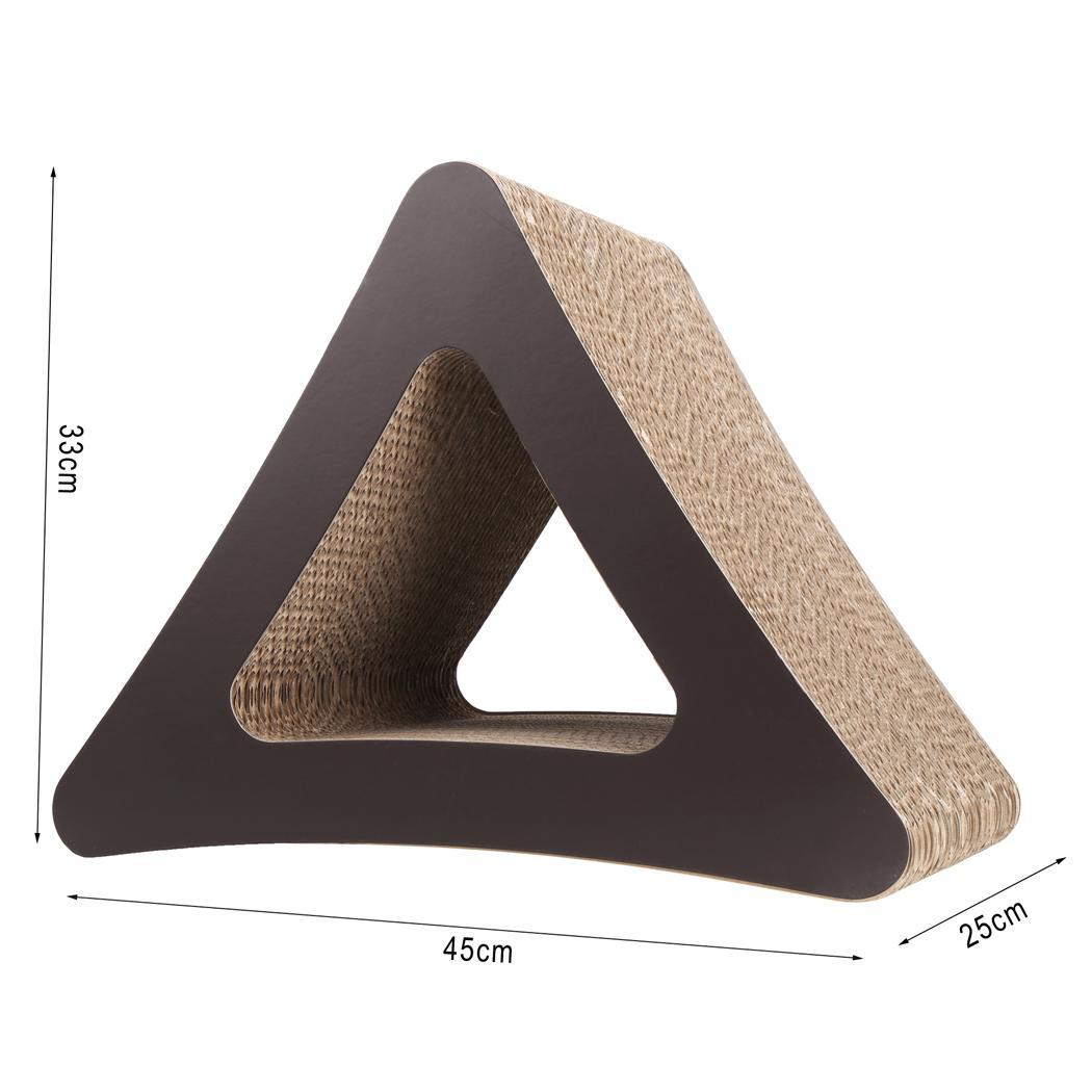 Cat Scratcher 3-Sided Vertical Corrugated Cardboard Cat Toy 3