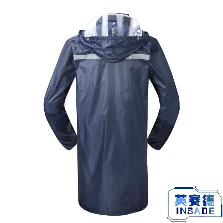 長款雨衣防水男女成人徒步連體戶外風衣加厚雨披【英賽德3C數碼館】