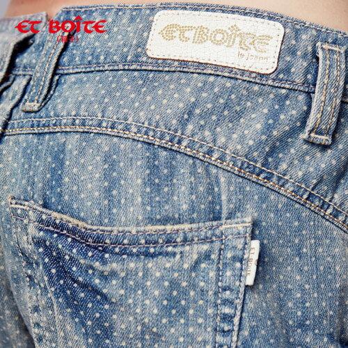 【結帳輸入『fashion2228-2』滿$888現折$100】【990元優惠↘】小點點男友短褲 - BLUE WAY  ET BOiTE 箱子 1