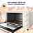 【晶工牌14L上下火烤箱】大容量烤箱 烘焙烤箱 家用烤箱 營業用烤箱 旋風烤箱 不鏽鋼電烤箱【AB416】 6