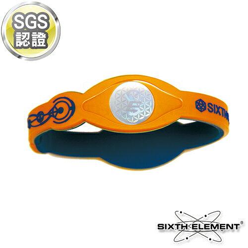 第六元素IEB負離子高能量手環 521 藍橘藍