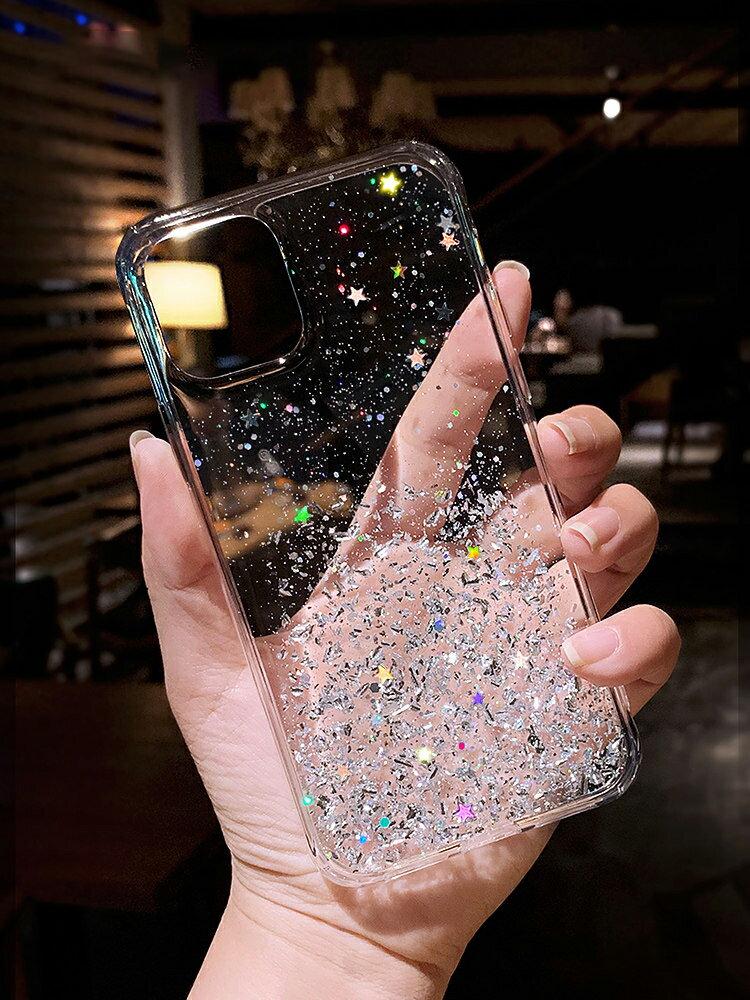 蘋果iphone12promax手機殼奢華高檔女神12個性創意12mini透明硅膠12pro全包防摔 【私人小鋪】