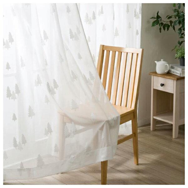 蕾絲窗簾 CHENE 100×138×1 NITORI宜得利家居 1