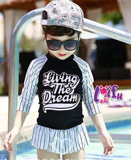 草魚妹:★草魚妹★F87泳衣倩麗長袖泳衣魚兒童泳衣有帽泳衣小朋友游泳衣正品,整套售價699元