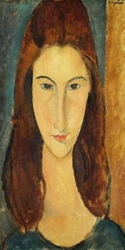 Selected Artworks PDX2AM1568SMALL Jeanne Hebuterne Poster Print by Amedeo Modigliani, 10 x 20 - Small 95c50b5d79b06a2e647cce0d0c7513c7