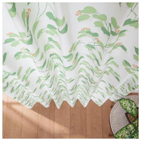 窗簾 FOGLIA YGR 100×200×1 NITORI宜得利家居 2