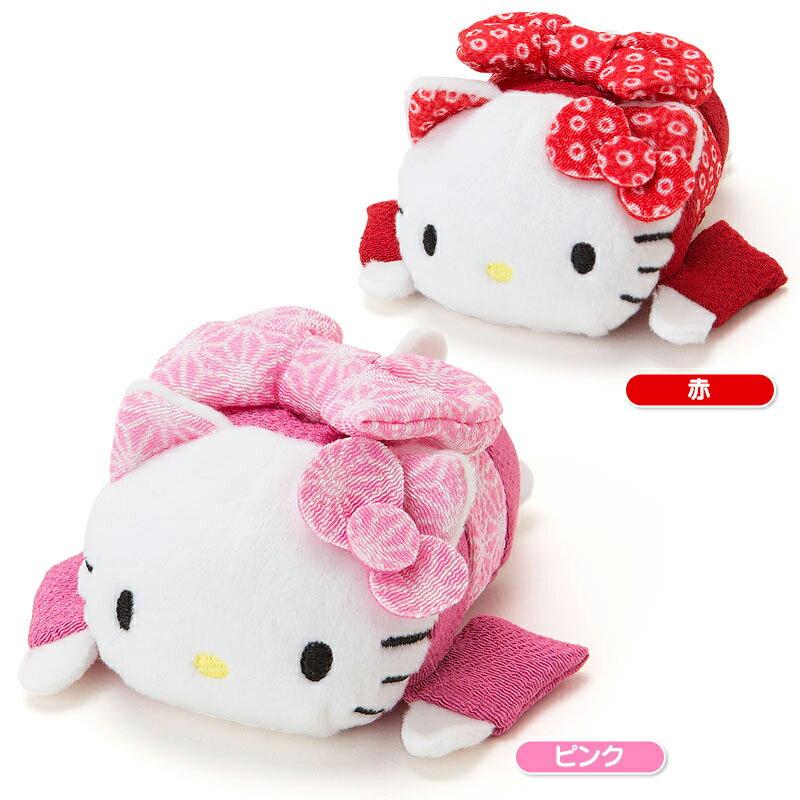 【真愛日本】15092400017茲姆茲姆娃S-KT和服粉   三麗鷗 Hello Kitty 凱蒂貓 茲姆娃 娃娃 擺飾 凱蒂貓