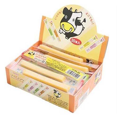 日本代購預購 日本製扇屋 OHGIYA 大條裝 原味起司條 鱈魚條 乳酪條 起司點心條(20入/盒) 790-027