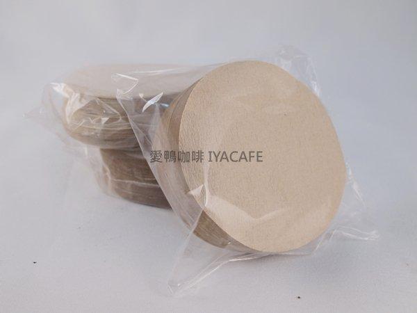 《愛鴨咖啡》6號丸型濾紙無漂白 100入/盒 直徑60mm