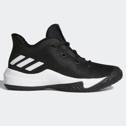 ADIDAS Zapatillas Rise Up 2 童鞋 大童 籃球 慢跑 避震 黑 白【運動世界】DB1255