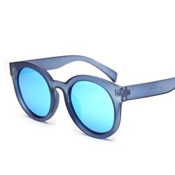 ★太陽眼鏡偏光墨鏡-時尚大氣平面圓框男女眼鏡配件4色73en81【獨家進口】【米蘭精品】