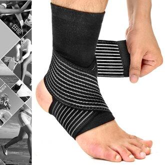 2in1雙重加壓纏繞式護腳踝(綁帶繃帶護踝束帶束套.運動防護具.保暖腳踝套.跑步登山籃球自行車羽毛球網球足球排球田徑.推薦哪裡買)D017-03