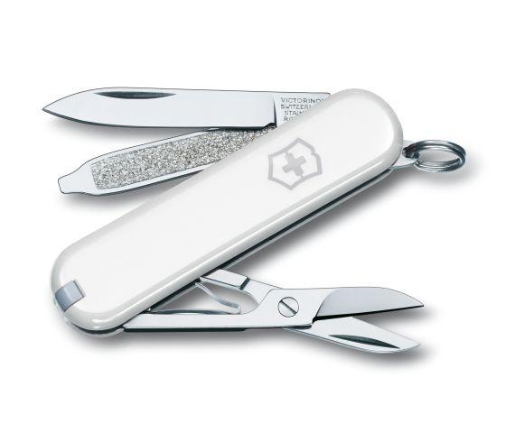Victorinox 瑞士維氏 Classic系列 0.6223.7(白) 多功能小型萬用刀 瑞士刀 7種功能 /支